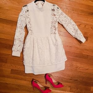 White English Factory cocktail dress